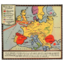 Map - Telephone Operations in Europe - ITT & others - ca 1930